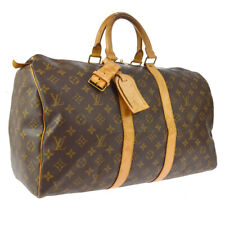 LOUIS VUITTON KEEPALL 45 TRAVEL HAND BAG PURSE MONOGRAM ce M41428 FL1020 A51963