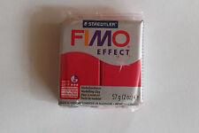 Fimo Modelliermasse FIMO® soft, Effekt metallic rubinrot