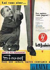 B- Publicité Advertising 1959 Les Vetements pour Homme pantalon Belle Jardinière