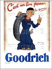 1 Page/Publicité Originale de 1931 : AUTO : PNEUX GOODRICH par Géo HAM