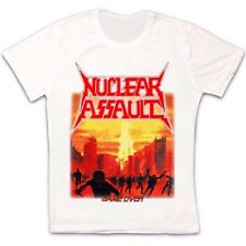 Nuclear Assault Game Over S.O.D. Anthrax Hirax Megadeth Retro Unisex T shirt 252