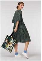 🌈 New Gorman Check Up On It Sadie Green Smock Cotton Dress 12/14/16 🌈