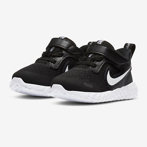 Nike Baby Revolution 5 V Running Shoe, Black/White-Anthracite BQ5673-003