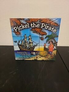 PICKLE THE PIRATE  Board Game Dreams Treasure Map to Knowledge Educational NEW