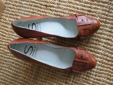 Biviel brown leather heels, size AUS 8.5, worn once