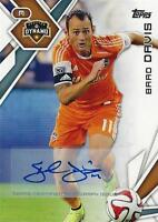 2015 Topps Major League Soccer Base Certified Autograph / Signature Card MLS