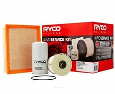 RYCO Oil Air Fuel Filter Service Kits ISUZU DMAX TF 3.0L 4JJ1 up to 2011