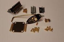 """FENDER Stratocaster GOLD 2 1/16"""" Body Hardware Set for Strat Guitar - NEW"""