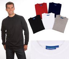 Langarm Basic T-Shirt Qualityshirts  Gr. S - 6XL