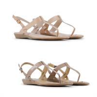 ARNALDO TOSCANI Scarpe donna sandali infradito bassi pelle casual moda estate DD