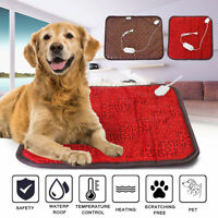 Waterproof Electric Heating Pad Heater Warmer Mat Beds Blanket For Pets Dog Cat
