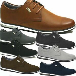 Herren Halbschuhe Sportliche Optik Schnürer  Schuhe Business Sneaker 2