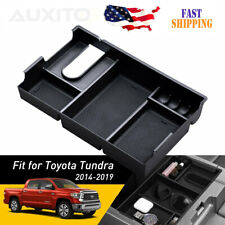 For Toyota Tundra 14-2019 Accessories BOX Center Console Organizer Holder ABS US