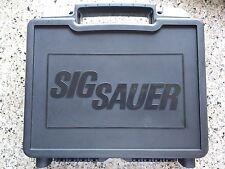 SIG SAUER SIG ARMS P250/P320 FACTORY PISTOL CASE/PISTOL BOX BLACK P226 P228 P229