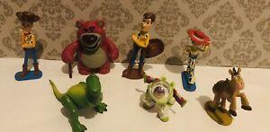 Toy Story Disney Pixar Toy Figure Set Bundle Ideal Cake Toppers B2