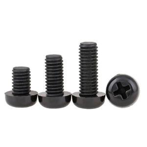 Nylon Button Head Phillips Drive Screws M2 M2.5 M3 M4 M5 M6 M8 Plastic Bolts