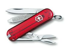 VICTORINOX classic SD RUBIS 7 fonctions 0.6223.T couteau suiss army knife red