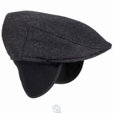 13895a6168a Mens Tilley Endurables Ivy Winter Driving hat Cap Ear flaps Black Small 6  7 8