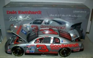 DALE EARNHARDT SR #3 GOODWRENCH SILVER 1995 1/18 ACTION DIECAST CAR 7000 MADE