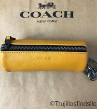 COACH GOLF BALL SET Amber Leather Bag  F34886 NEW
