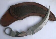 Custom Handmade Knife King's Damascus Black Karambit knife