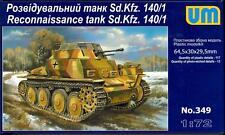 UM-MT Models 1/72 German Sd.Kfz. 140/1 RECONNAISSANCE TANK