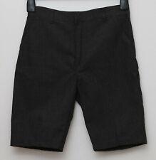 F&F school wear boys grey shorts size 11 to 12 yrs old new no tag uniform