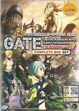 Gate : Jieitai Kanochi Nite, Kaku Tatakae DVD (Season 1+2) with English Audio