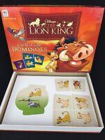 2003 Walt Disney THE LION KING CIRCLE OF DOMINOES GAME Milton Bradley