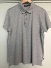Hugo Boss Mens Short Sleeve Super Light Textured Polo Shirt XXL XL Extra Large