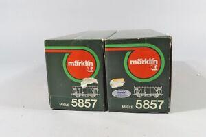 "H 79919 Zwei Märklin Miele"" Wagen 5857"""