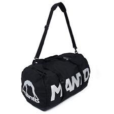 Manto Duffel Bag Prime Black MMA BJJ No-Gi Gym Holdall Backpack