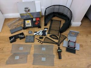 WWF WWE WCW Ring Cage Mic Micro Aggression Spares Bundle Parts 1998 1999 2001