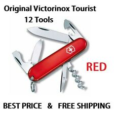0.3603 VICTORINOX TOURIST RED SWISS ARMY POCKET KNIFE 12 TOOLS 53131 NEW IN BOX