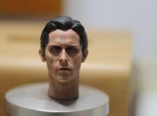 1/6 Scale Male Christian Bale Batman Head Sculpt For 12'' Man Action Figure Toys