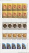 KOSOVO UNMIK - 2006 MÜNZEN COINS 59-62 KLEINBOGEN POSTFRISCH **
