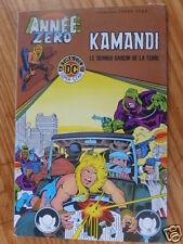 "BD ""KAMANDI LE DERNIER GARCON DE LA TERRE"", AREDIT 1979, EN TRES BON ETAT"