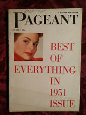 PAGEANT January 1952 FASHIONS BEAUTY QUEENS IRMA ROMBAUER Rachel L. Carson