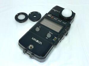 [NEAR MINT] Minolta Flash Meter IV Light Exposure Meter From JAPAN #783
