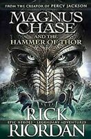 Magnus Chase And The Martillo De Thor Libro 2 Tapa Dura de Rick Riordan