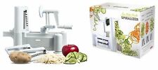 Fruit Vegetable Spiraliser Cutter with 3Blades - Peeler Spiral Slicer Cutter Set