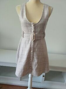 Liz Lisa X My Melody Lizmelo Plaid Tweed Jumper Dress pink white