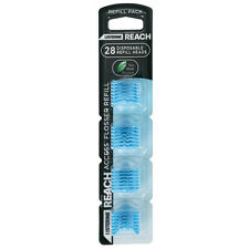 ツLISTERINE REACH ACCESS DAILY FLOSSER 28 PC REFILL PACK CLEAN PASTE DENTAL FLOSS