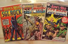 OUR ARMY AT WAR SGT ROCK 165 184 SHOWCASE 45 DC COMICS 1963 1966 1967
