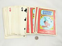 Antique GIANT Disney / Disney World Playing Cards. Made in Hong Kong!