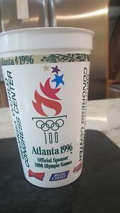 SUMMER OLYMPICS 1996-ATLANTA-100 CENTENNIAL YEARS LOGO BUDWEISER CUP
