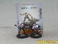 30mm Infinity WDS painted Nomads Prowlers Combi Rifle Hacker e41