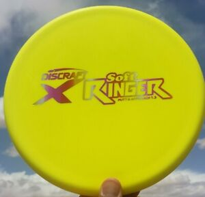 New Discraft X Soft RINGER 173g Yellow Sunset Foil