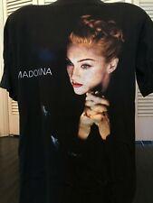 VTG Madonna Remember Tour Shirt Sz XL Pop Rock Bangles Blondie Gwen Berlin Hagen