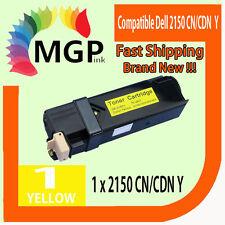 1x Generic Yellow toner cartridge for Dell 2150 2150cn 2150cdn 2155cn 2155cdn